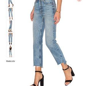 NEW Grlfrnd Helena High-Rise Jeans